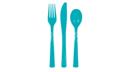 Solid Assorted Plastic Cutlery Box, 18 ...