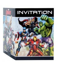 Avengers Party Invitations Cards, 1 Pack