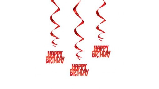 """Hanging """"Happy Birthday"""" Party Decorations 32"""", ..."""