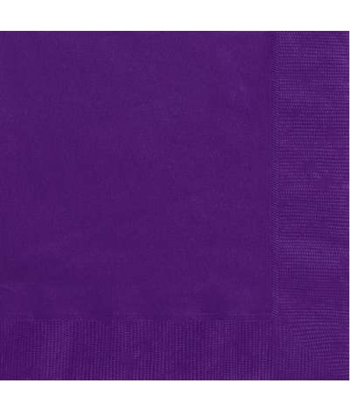 Purple Paper Luncheon Napkins, 20 Ct
