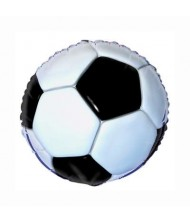 3D Soccer Foil Party Balloon 18""
