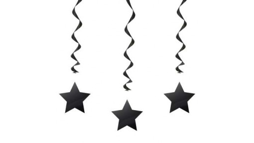 """Hanging Star Party Decorations 26"""", 3 ..."""