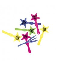 Assorted New Year's Star Clapper Display ...