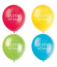 Assorted Balloon Party Birthday Latex Balloons ...
