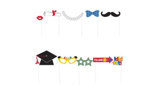 Graduation Photo Booth Props Party Decorations, ...