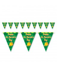 Green Happy St Patrick's Day Pennant ...