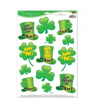 Assorted St. Patrick's Day Clings- 13 ...