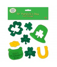 St Patrick's Day Gel Clings - ...