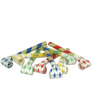 Assorted Color Noiseless Party Blowouts - ...