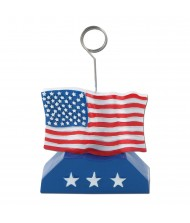 American Flag Photo and Balloon Holder ...