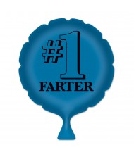#1 Farter Blue Whoopee Cushion