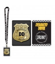 Black Designated Driver Party Pass Lanyard ...