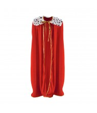Adult Colored Royalty Cape - 1pc