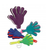 Assorted Colors Hand Shaped Clapper
