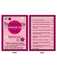 Bachelorette Scavenger Hunt Games - 8 ...