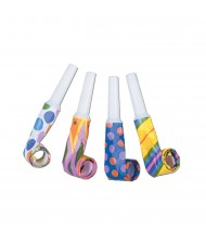 Assorted Color Party Blowouts - 4 ...