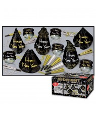 Black Midnight New Year Party Assortment ...