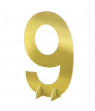 """""""#9"""" Gold Standing Sign - 1 ..."""