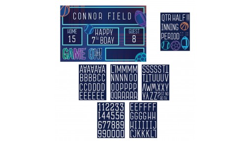 All About Sports Customizable Party Sign ...