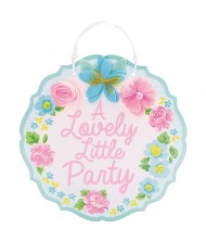 """""""A Lovely Little Party"""" Hanging Sign ..."""