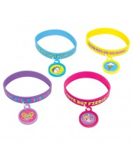 Assorted Kids Rubber Bracelet with Rainbow ...