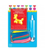 40-pc Balloon Animal Kit With Pump ...