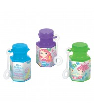 Assorted Color Mini Bubbles With Mermaid ...