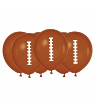 12-inch Football Latex Balloons - 6 ...