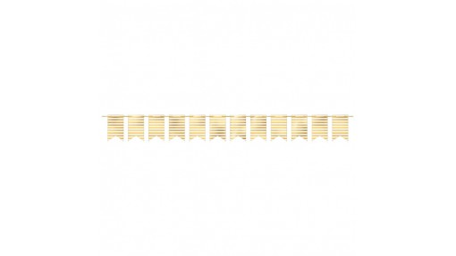 Hot Stamp Stripe Design Pennant Party ...