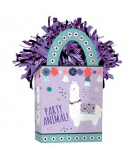 """Llama Fun"" Purple and Teal Mini ..."