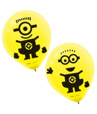 """Despicable Me"" Yellow Latex Party Balloons, ..."