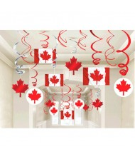 """""""Canada Day"""" Foil Swirl Decorating Party ..."""