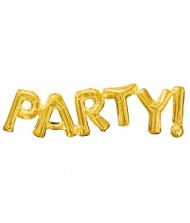 "Air-Filled Word Balloon ""Party""