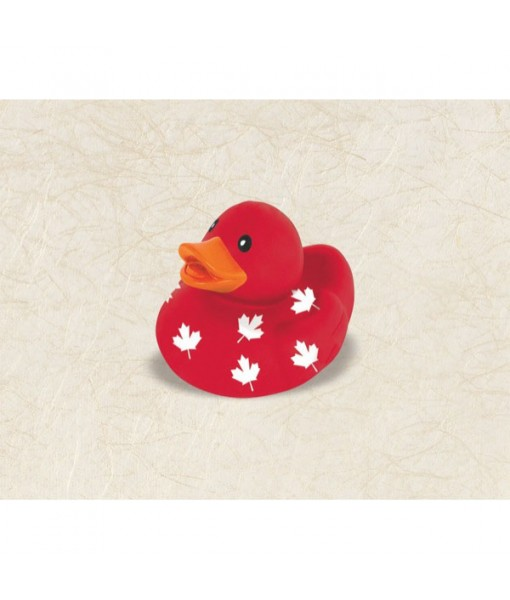 """""""Canada Day"""" Party Rubber Duck"""