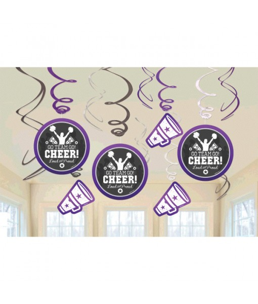 Spirit Squad Collection Value Pack Swirl Party Decorations