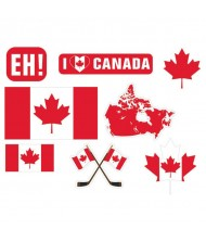 """""""Canada Day"""" Party Cutout Kit"""