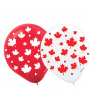 """Canada Day"" Party Balloons, 12"", 15 ..."