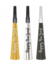 """Happy New Year!"" Horns Multipack, Black, ..."