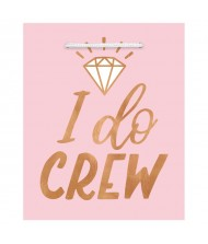 """I Do Crew"" Blush Wedding Gift ..."