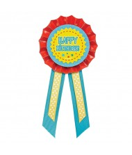 """Happy Birthday"" Award Ribbon"