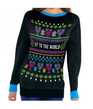 """""""Oy To The World"""" Hanukkah Ugly ..."""