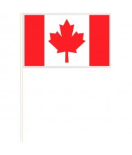 """""""Canada Day"""" Party Flags, 6"""" x ..."""