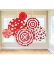 """""""Canada Day"""" Party Fan Decorating Kit"""