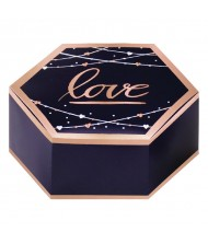 """Love"" Wedding Paper Hexagonal Favor Box ..."