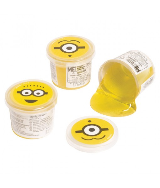"""""""Despicable Me"""" Yellow Ooze Party Favor Putty, 4 Ct."""