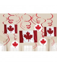 """""""Canada Day"""" Party Foil Swirl Decorating ..."""