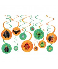 """""""Angry Birds"""" Orange and Green Spiral ..."""