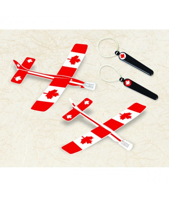 """""""Canada Day"""" Party Gliders, 2 Sets"""