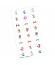 """Barbie Mermaid"" Assorted Nail Decals, Party ..."