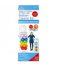 Air-Filled Latex Balloon Column Kit|Party Decor